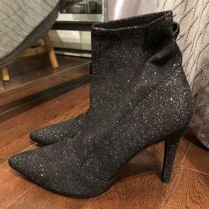 Shoes - NEW! Glitter Sock Boots